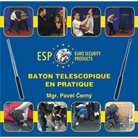 Bâton Télescopique Trempé - Black