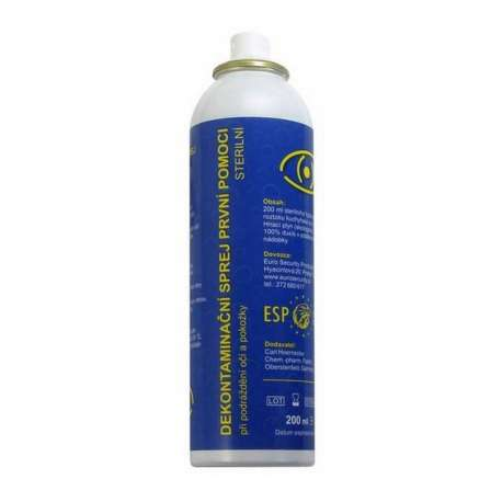 Decontamination First-aid Spray