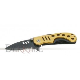 Tactical Knife Alu Gold