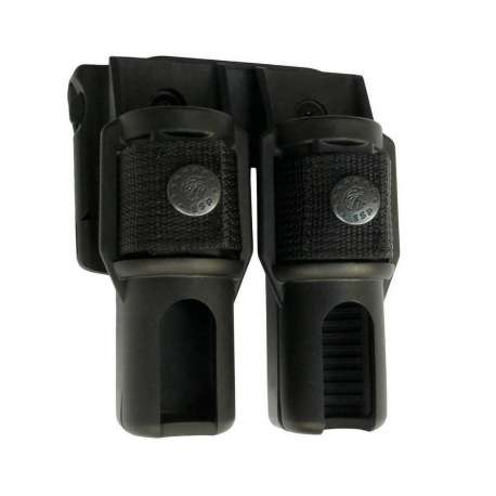 Double Swivelling Holder BH-LH-04 for Baton and Flashlight