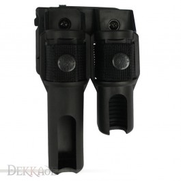 Double Swivelling Holder BH-LH-05 for Baton and Flashlight