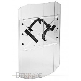 Impact Resistant Police Shield (Ambidextrous)