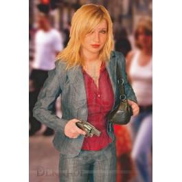 Cible Tactique 6 - Femme Blonde