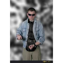 Tactical Target 1 - Man with Glasses