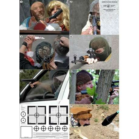 Cible Tactique HS - Spéciale Sniper