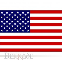 Flag: UNITED STATES OF AMERICA