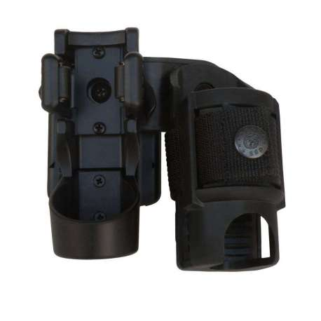 Double Swivelling Holder LHU-SH-04 for Tactical Flashlight and Spray