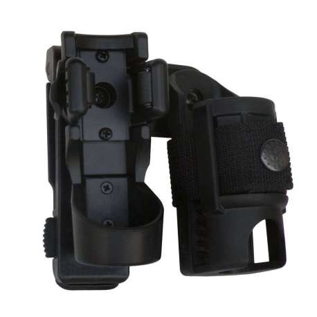 Double Swivelling Holder LHU-SH-14 for Tactical Flashlight and Spray