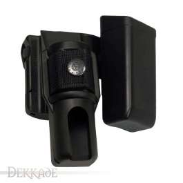 Double Swivelling Holder BH-MH-04 for Baton and Magazine