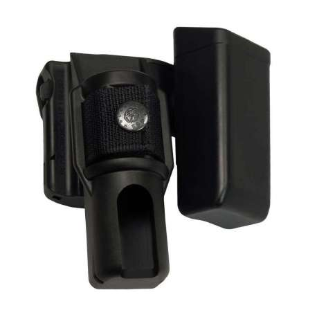 Double Swivelling Holder BH-MH-05 for Baton and Magazine
