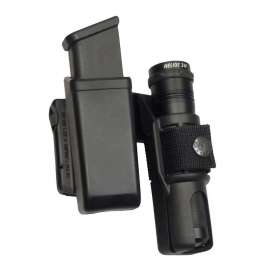 Double Swivelling Holder MH-LH-04 for Magazine and Flashlight