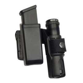 Etui Pivotant Double MH-LH-04 pour Chargeur et Lampe