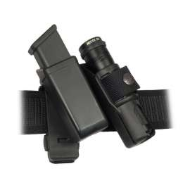 Double Swivelling Holder MH-LH-14 for Tactical Flashlight and Magazine