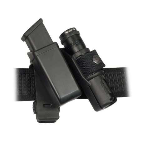 Etui Pivotant Double MH-LH-14 pour Chargeur et Lampe
