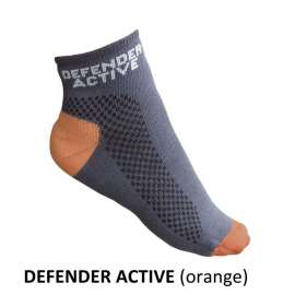 Chaussettes Defender Active - Orange