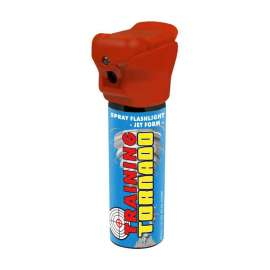 Training Spray Flashlight POLICE TORNADO