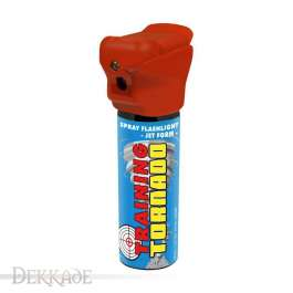 Training Spray Flashlight POLICE TORNADO