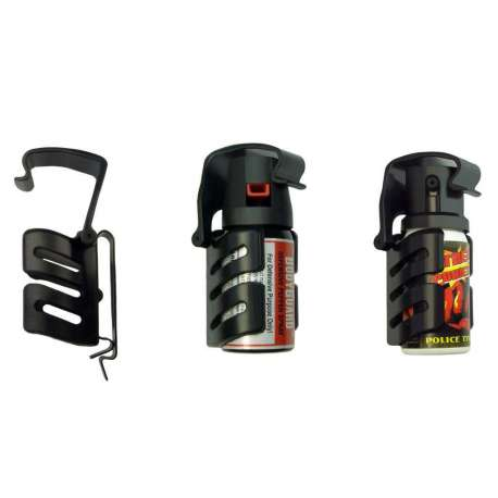 Universal Holder with Metal Clip SHU-06 for Defensive Spray