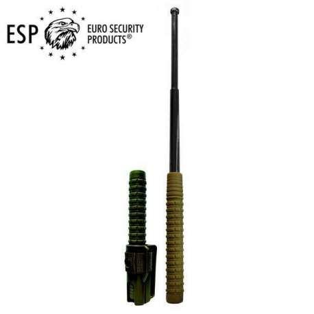 "Expandable Baton Hardened Steel 21"" - Spécial Kaki Army"