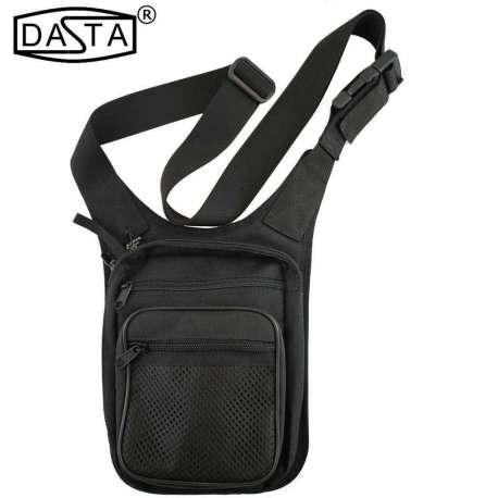 Holster Bag Vertical with Rig Over Shoulder