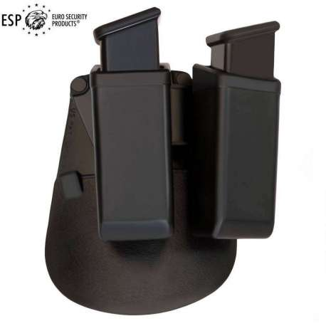 Double Swivelling Holder MH-MH-24 for Magazine 9mm