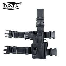 Tactical Thigh Holster with Magazine Case