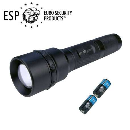 Tactical Police Flashlight HELIOS 3 Ultrazoom