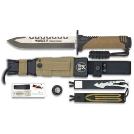 Thunder II Survival Knife - Desert
