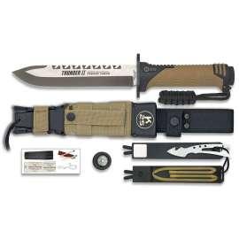 Thunder II Survival Knife - Desert