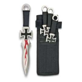 Set of 3 Throwing Knives TEMPLAR