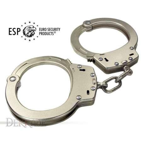 Lightweight Police Handcuffs from Aircraft Duraluminum