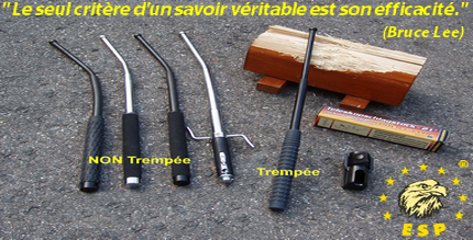 Dekkade - Bâton Télescopique Trempé